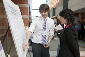 Students are able to present work to their peers, faculty, and the community