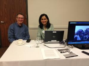 Pednekar-Magal and Oppenheim present their sabbatical project