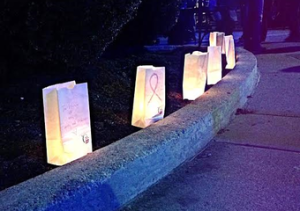 Luminarias at Relay for Life